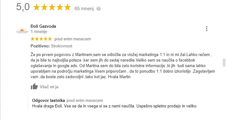 mnenje Đoli Gazvoda